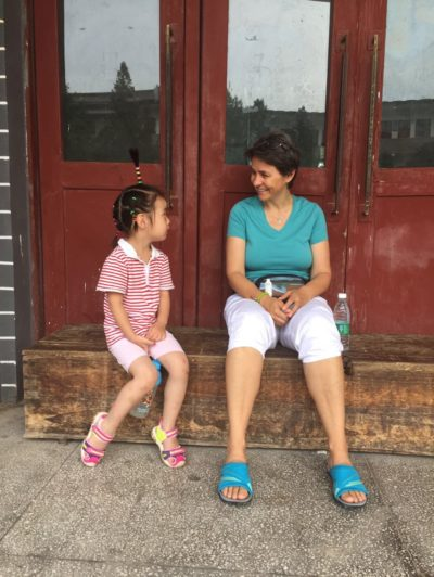 Eine Pause mit einem Studenten